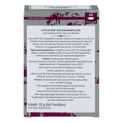 Cystus 052 Bio Halspastillen  bei Apotheke.de bestellen