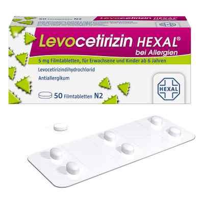 Levocetirizin Hexal bei Allergien 5 mg Filmtabletten  bei Apotheke.de bestellen