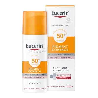 Eucerin Sun Fluid Pigment Control Lsf 50+  bei Apotheke.de bestellen