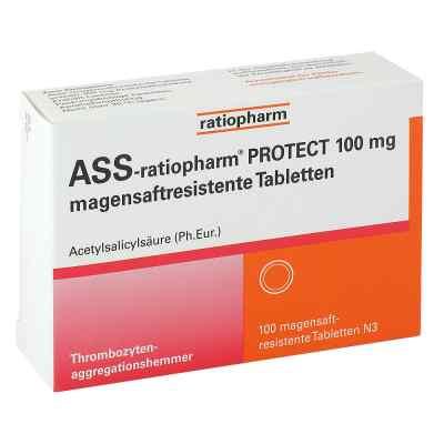 Ass-ratiopharm Protect 100 mg magensaftresistent Tabletten  bei Apotheke.de bestellen