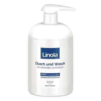 Linola Dusch und Wasch mit Spender  bei Apotheke.de bestellen