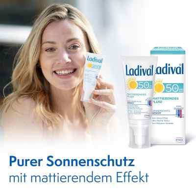 Ladival Sonnenschutz Gesicht Fluid mattierend LSF 50+  bei Apotheke.de bestellen