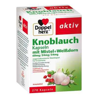 Doppelherz Knobl.kap.m.mistel+weissdorn 60/24/54 m  bei Apotheke.de bestellen