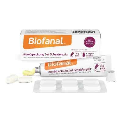 Biofanal Kombipackung bei Scheidenpilz Vaginaltabletten+Salbe  bei Apotheke.de bestellen