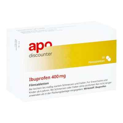 Ibuprofen 400 mg Apodiscounter Filmtabletten  bei Apotheke.de bestellen