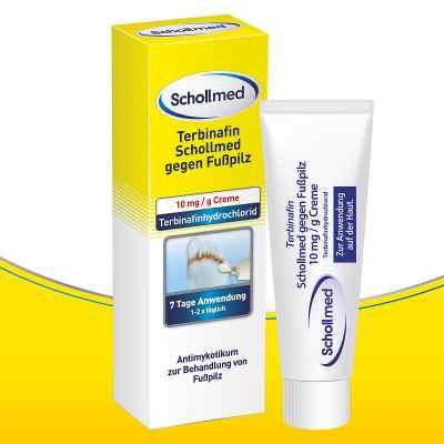 Terbinafin Schollmed gegen Fusspilz 10 mg/g Creme  bei Apotheke.de bestellen