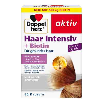 Doppelherz Haar Intensiv+biotin Kapseln  bei Apotheke.de bestellen