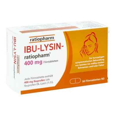 Ibu Lysin-ratiopharm 400 mg Filmtabletten  bei Apotheke.de bestellen
