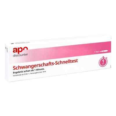 Schwangerschaftstest Schnelltest ab 25ie/l Urin von apo-discount  bei Apotheke.de bestellen