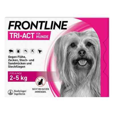 Frontline Tri-Act gegen Zecken, Flöhe beim Hund (2-5kg)  bei Apotheke.de bestellen