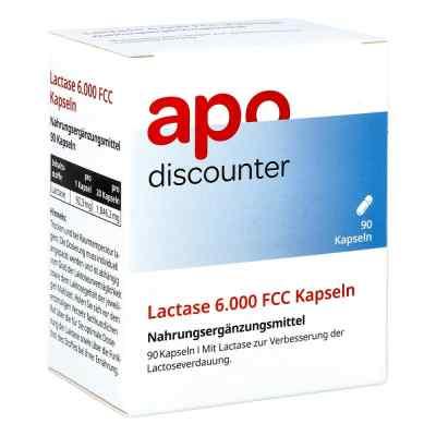 Lactase 6.000 Fcc Kapseln von apo-discounter  bei Apotheke.de bestellen
