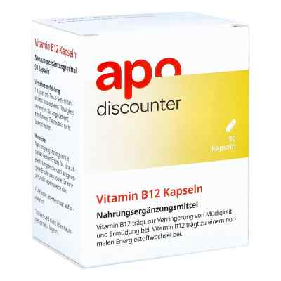 Vitamin B12 Kapseln von apo-discounter  bei Apotheke.de bestellen