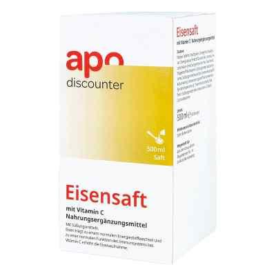 Eisensaft mit Vitamin C von apo-discounter  bei Apotheke.de bestellen