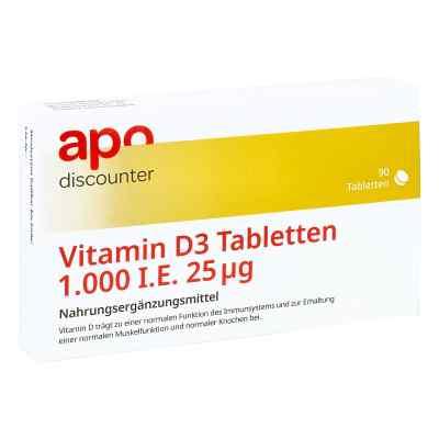 Vitamin D3 Tabletten 1000 I.e. 25 [my]g  bei Apotheke.de bestellen