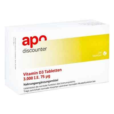 Vitamin D3 Tabletten 3000 I.e. 75 [my]g  bei Apotheke.de bestellen