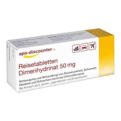 Reisetabletten Dimenhydrinat 50 mg Tabletten von apo-discounter  bei Apotheke.de bestellen