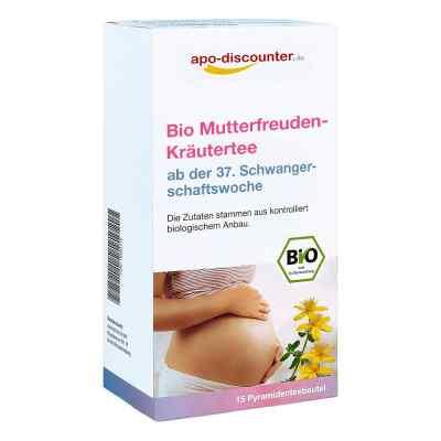 Bio Mutterfreuden-Kräutertee mit Himbeerblätt.Fbtl. von apo-disc  bei Apotheke.de bestellen