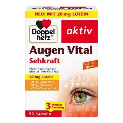 Doppelherz Augen Vital Sehkraft Kapseln  bei Apotheke.de bestellen