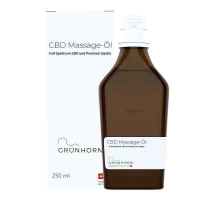 Grünhorn Cbd Massage-öl  bei Apotheke.de bestellen