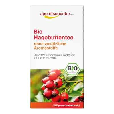 Bio Hagebutten Tee Filterbeutel von apo-discounter  bei Apotheke.de bestellen