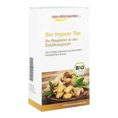 Bio Ingwer Tee Filterbeutel von apo-discounter  bei Apotheke.de bestellen