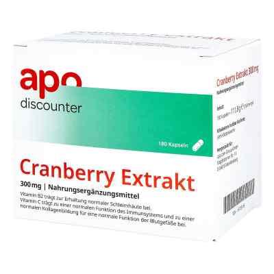Cranberry Extrakt 300 mg Kapseln von apo-discounter  bei Apotheke.de bestellen