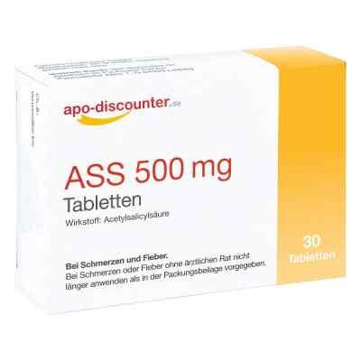 Ass 500 mg Tab apo-discounter  bei Apotheke.de bestellen
