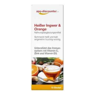Heisser Ingwer + Orange Pulver von apo-discounter  bei Apotheke.de bestellen