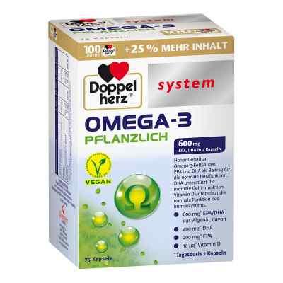 Doppelherz Omega-3 Pflanzlich System Kapseln  bei Apotheke.de bestellen