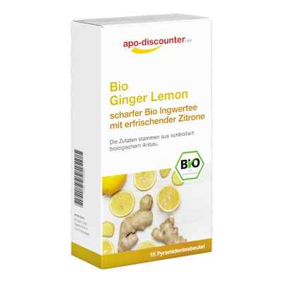Bio Ginger Lemon Tee Filterbeutel von apo-discounter  bei Apotheke.de bestellen