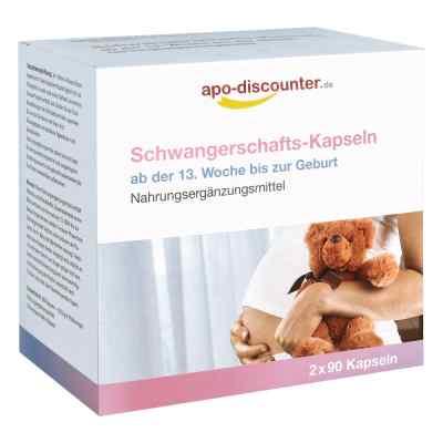 Schwangerschafts Kapseln von apo-discounter  bei Apotheke.de bestellen