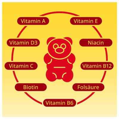 Gummibären Multivitamin vegan und zuckerfrei von apo-discounter  bei Apotheke.de bestellen
