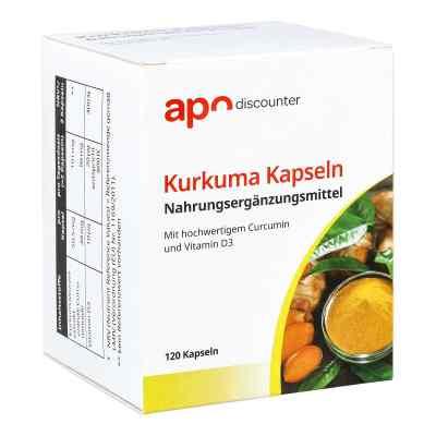 Kurkuma Kapseln mit Curcumin von apo-discounter  bei Apotheke.de bestellen