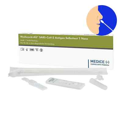Laientest Medicovid-ag Sars-cov-2 Antigen Selbsttest Nase  bei Apotheke.de bestellen