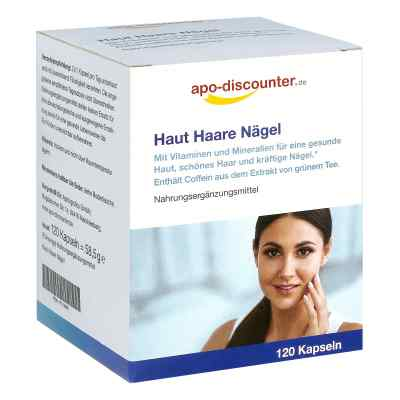 Haut Haare Nägel Kapseln von apo-discounter  bei Apotheke.de bestellen