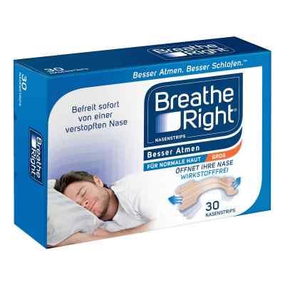 Besser Atmen Breathe Right Nasenstrips Beige Groß  bei Apotheke.de bestellen